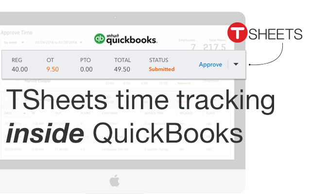 TSheets Time Tracking by TSheets | Apps for QuickBooks
