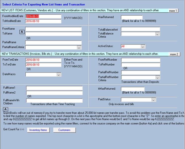 Data Transfer Utility by Q2Q | Apps for QuickBooks Desktop