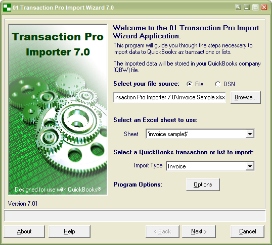 Transaction Pro Importer By Transaction Pro Apps For QuickBooks - Import excel into quickbooks invoice