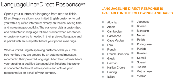 Global Access to 200+ Languages Powering Call Centers and