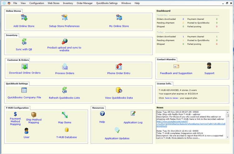 T-HUB by Atandra   Apps for QuickBooks Desktop Marketplace