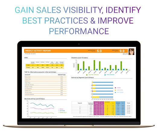 Gain Real-Time Sales Insights (team metrics & reports)