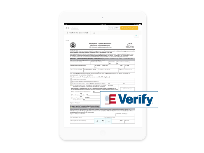 I-9 and E-Verify