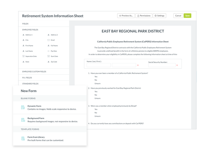 Create Customizable Forms and Fillable PDFs