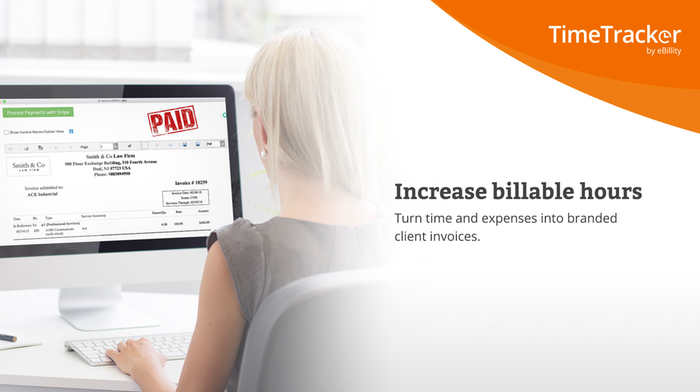 Time and expense tracking for client billing