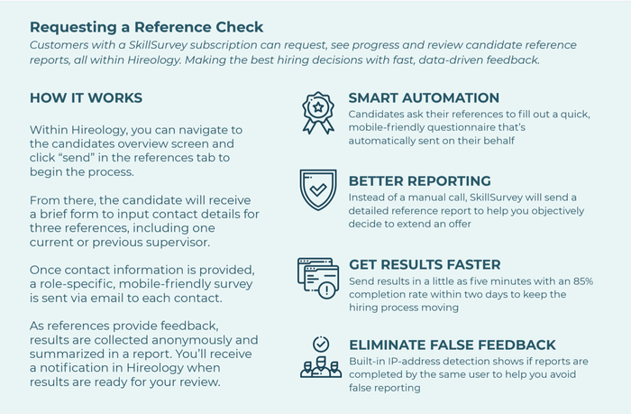Reference Checks