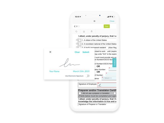Take Advantage of E-Signature Capabilities