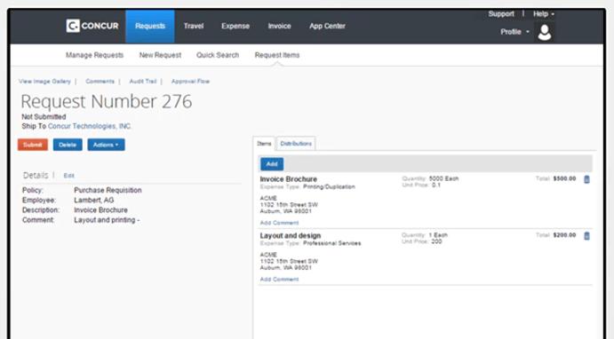 Concur Invoice by SAP Concur | ADP Marketplace