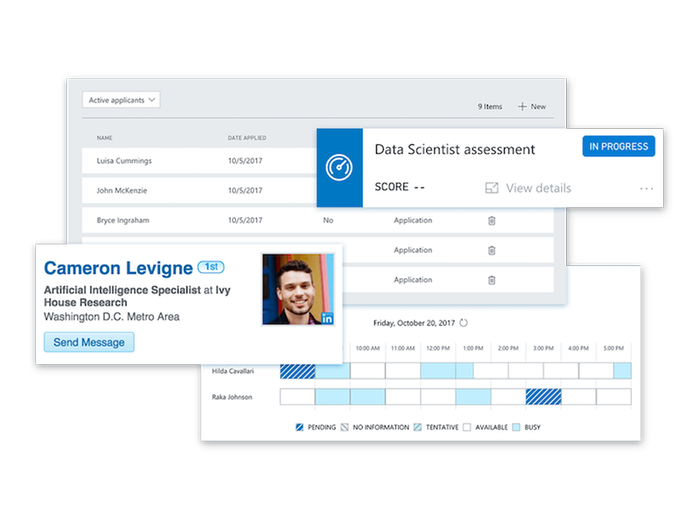 Enable collaborative recruiting