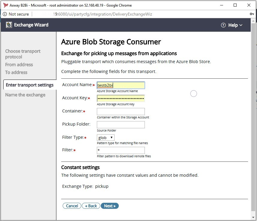 Microsoft Azure Blob Storage connector by Axway | Axway