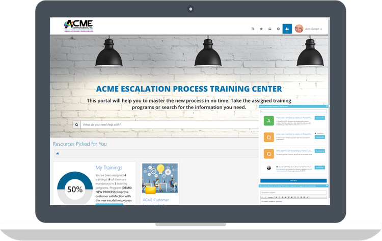Ensure employee competency with interactive training programs