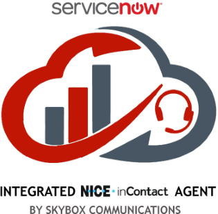 ServiceNow Integrated NICE inContact Agent by Skybox