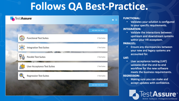 Follow QA Best-Practices
