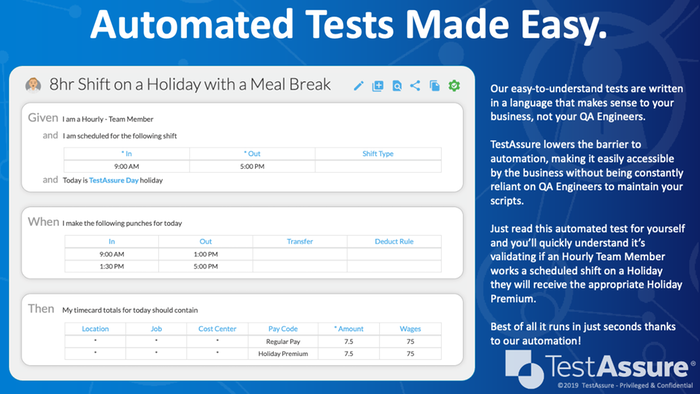 Automated Tests Made Easy
