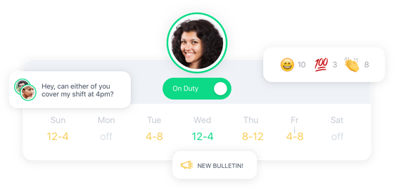 Scheduling and On/Off Duty Messaging