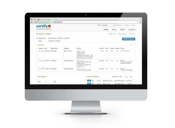 Full Automation with Certify Report Executive