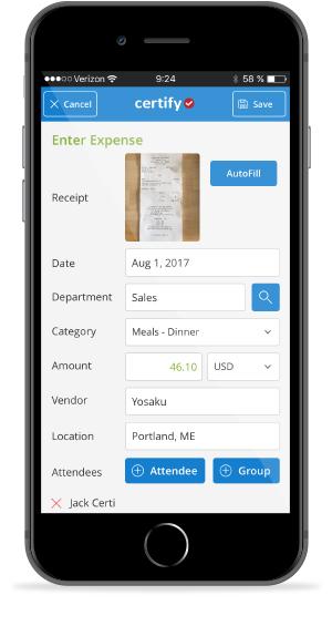11 Methods to Capture Receipts & Expenses