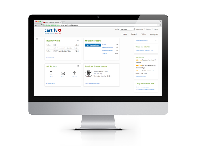 Expense Reporting with Emburse Certify