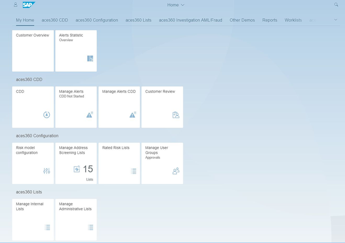 Easy to adopt UI design (Fiori)
