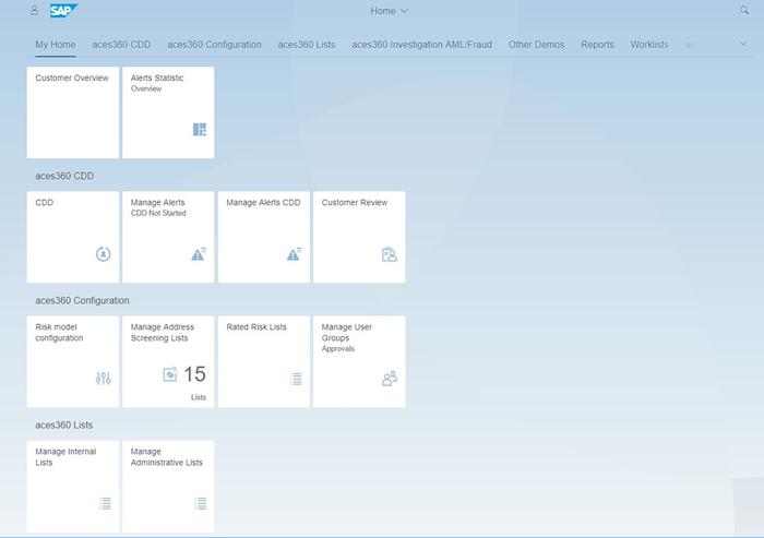 Easy to adopt UI design (Fiori)