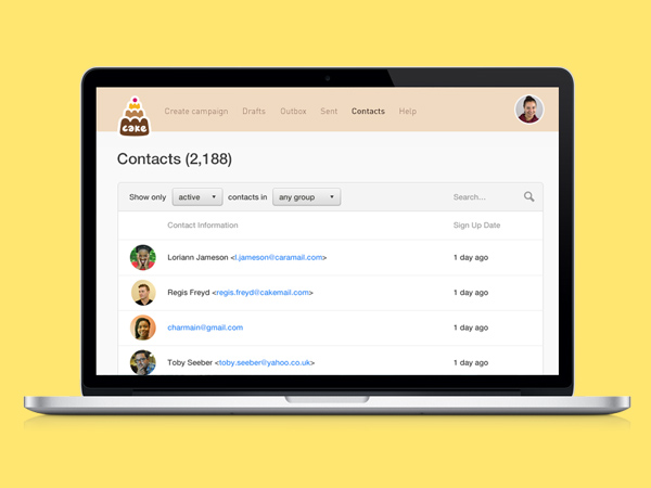 Manage your contacts