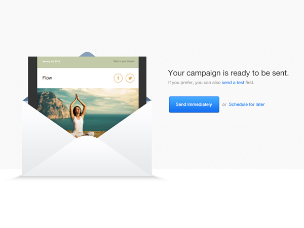 Powerful email marketing engine.