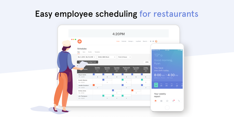 7shifts Restaurant Employee Scheduling by 7shifts Employee
