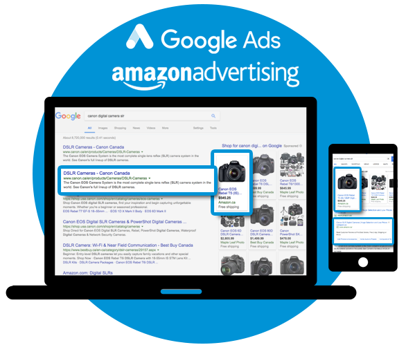 Automated Ad Creation for Google and Amazon