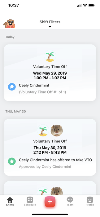Voluntary Time Off (VTO)