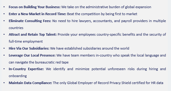Why work with Globalization Partners?