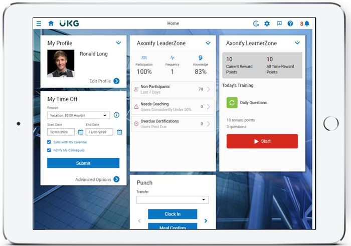 Axonify + UKG: learning in the flow of work