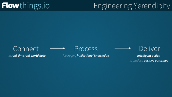 Agile intelligence for all of your things with flowthings.io