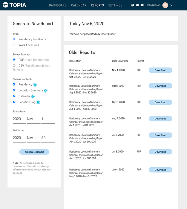 Robust Reporting and Dashboards