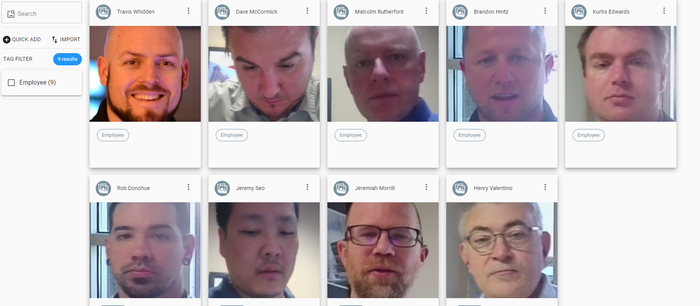 Facematch recognition