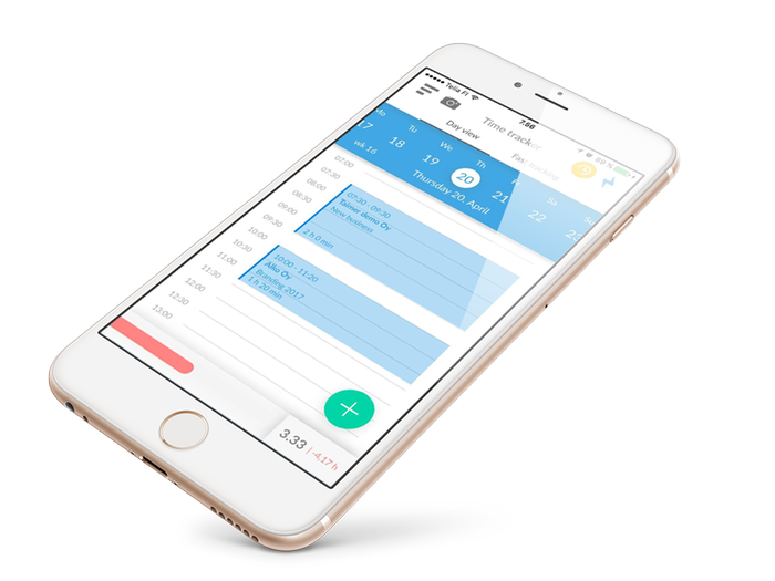 Time Tracker and Expenses on the go