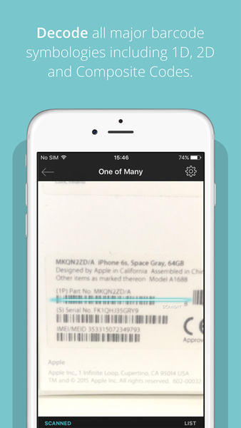 Barcode Scanner SDK by Scandit | Axway AMPLIFY Marketplace