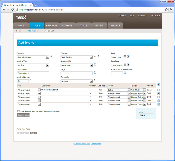 Send and Manage Invoices Online