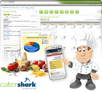 Catershark Online Ordering By Advancedchef Appdirect