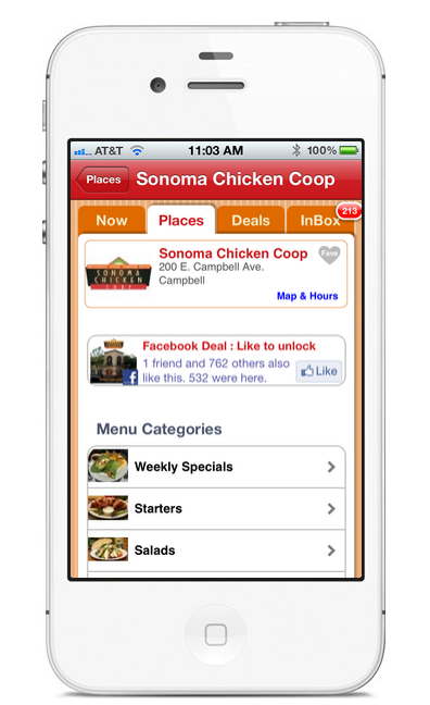 Your Menu - At the Tip Of Your Customers' Fingers