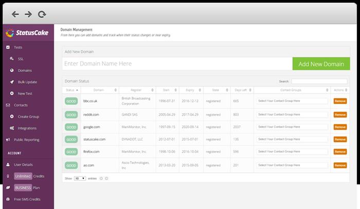 Domain Monitoring