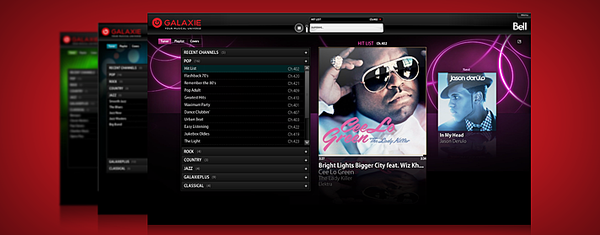 Galaxie Broadband Music Player Features