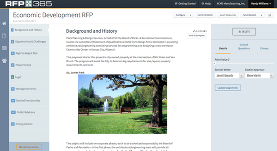 RFP365 by AppDirect | AppDirect