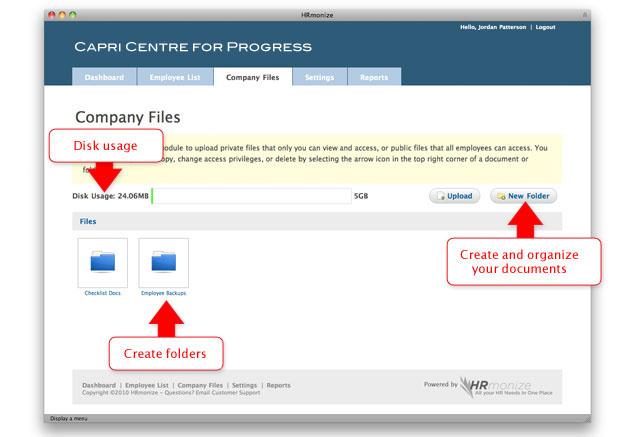 Company Files