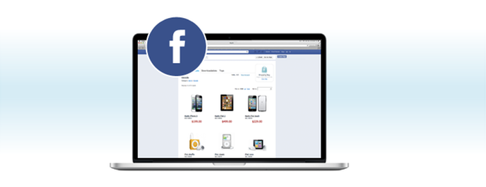 Your store can be mirrored on multiple sites including Facebook