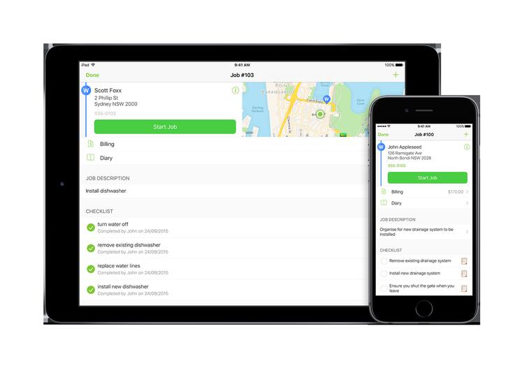 The ServiceM8 iOS App