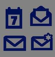 Email, Kalender und Kontakte stets aktuell dabei