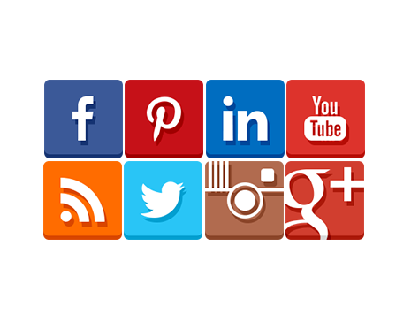 Simple integration of social media