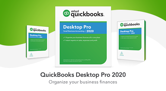 upgrade to QuickBooks Desktop Pro 2020